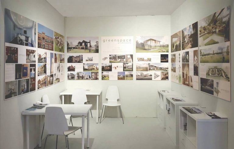 The Greenspcae Architects stand at Grand Designs 2016